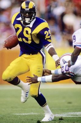 eric dickerson St Louis Rams Football