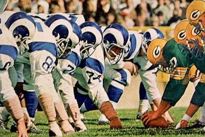 fearsome foursome St Louis Rams Football